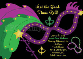 Plus, you will find the largest collection of invitation wording samples for all type Mardi Gra party themes.